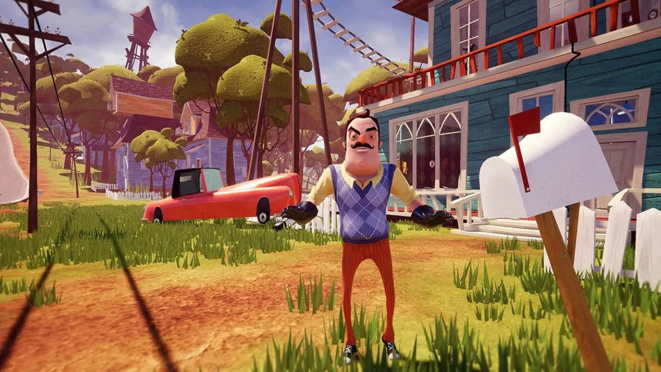 Download Hello Neighbor 1.0 APK + OBB Files for all Android devices
