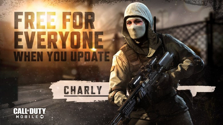 Charly CODM character free
