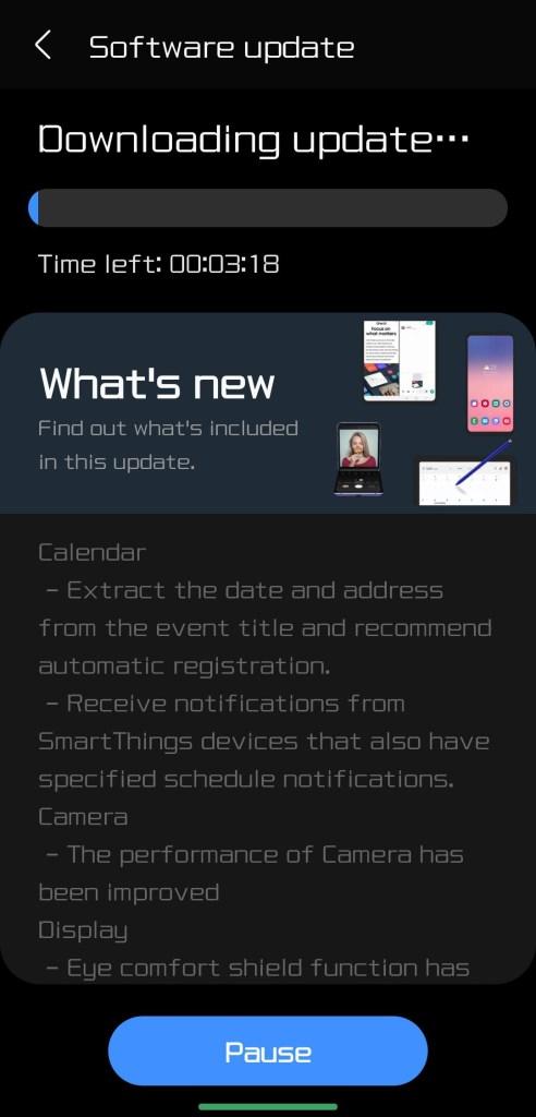 ONE UI 3.1 US ATT Unlocked Note 20