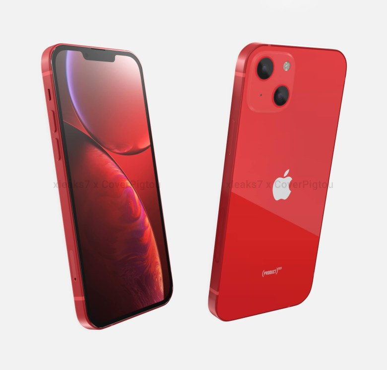 Apple iPhone 13 or 12S front back