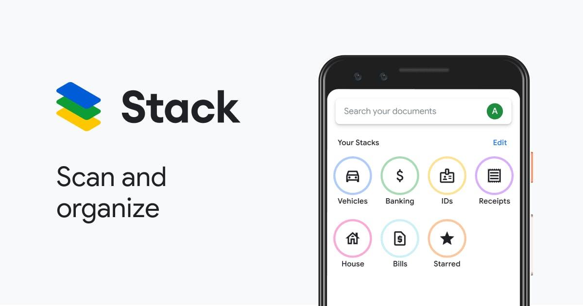 Download Stack APK: Google's own PDF and Document Scanner | Best CamScanner Alternative