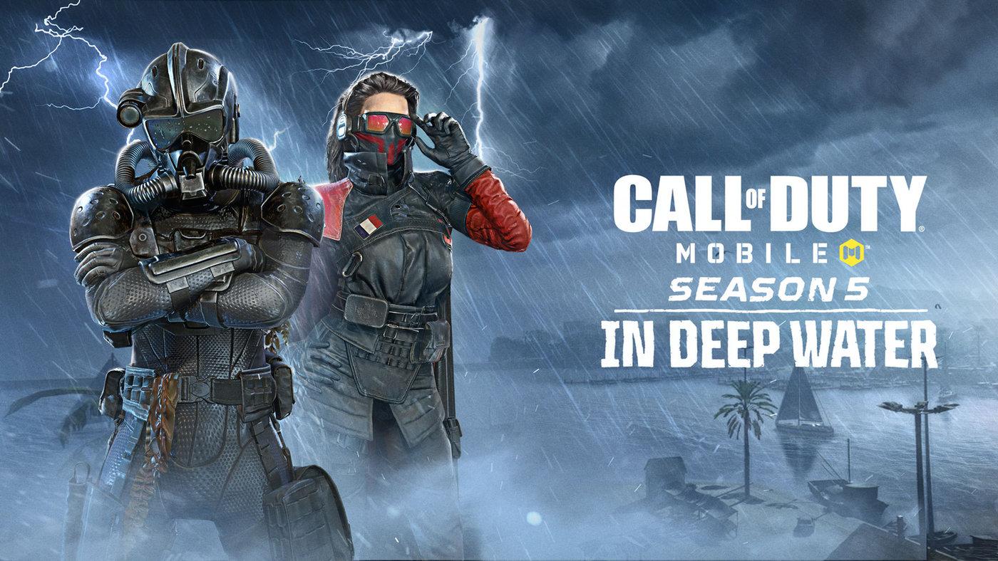 Download Call of Duty Mobile 1.0.24 APK Season 5 In Deep Waters