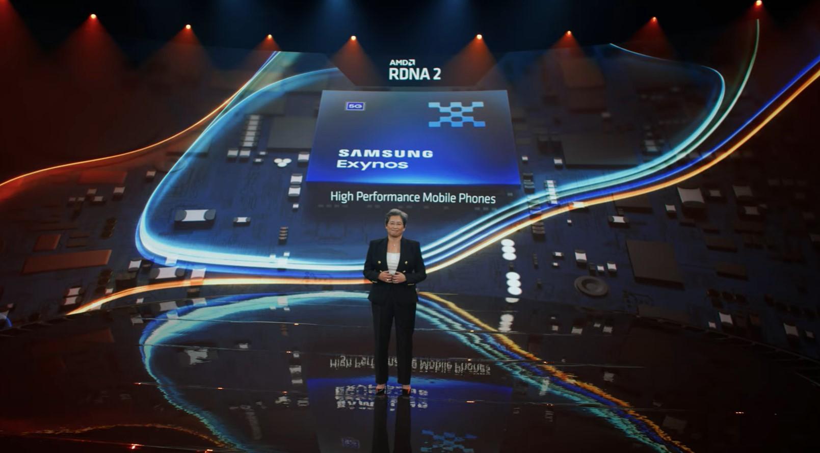 Samsung AMD RDNA2 GPU Exynos processors