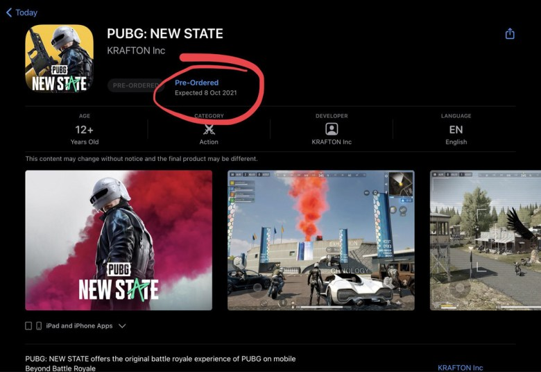 PUBG New State official release date revealed