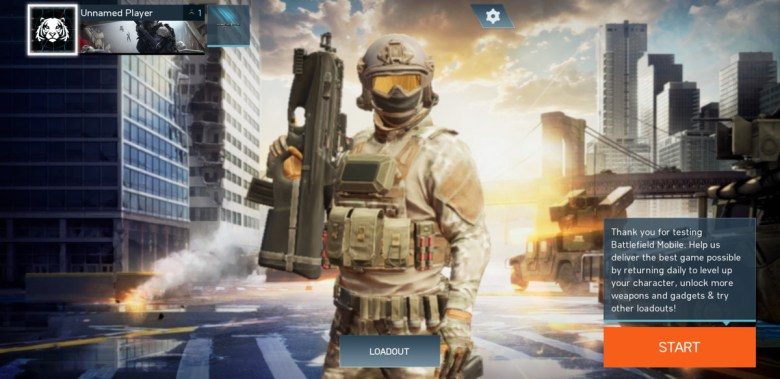 Battlefield Mobile Game Play Screenshot