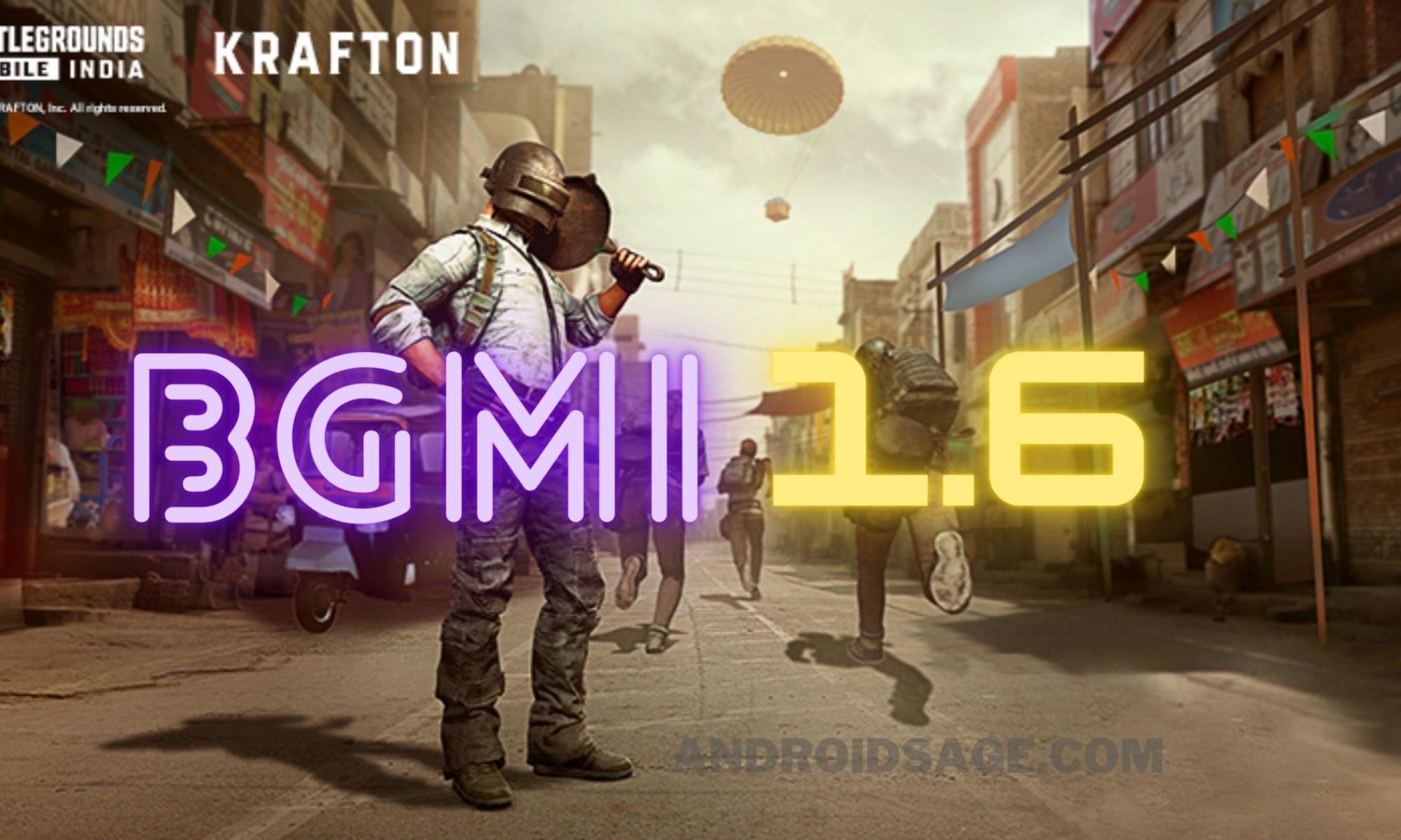 Battlegrounds Mobile India BGMI 1.6 APK OBB Download