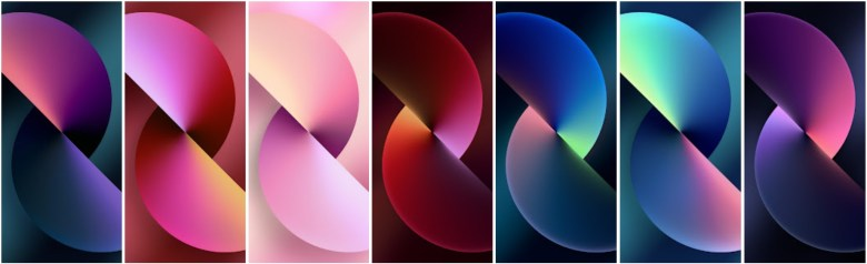 iPhone 13 Wallpapers from iOS 15