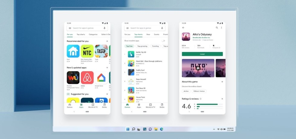 Windows Subsystem for Android with Google Play Store Gapps