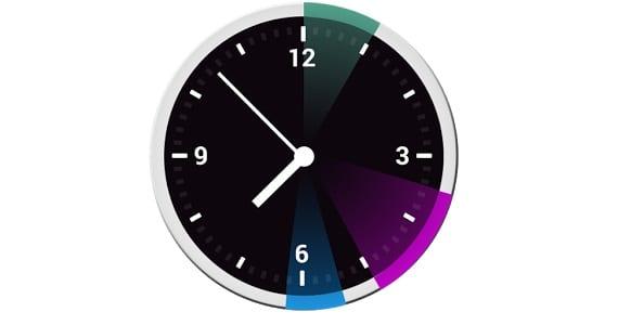 12hours 12Hours es un reloj widget que muestra los eventos diarios de una forma especial