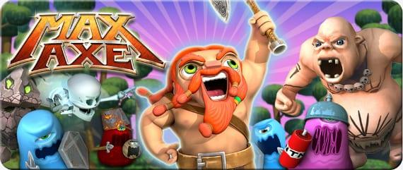 MaxAxe Max Axe, vikingos de carrera infinita