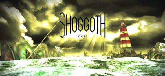 Shoggoth Rising Logo Shoggoth Rising, defiende tu faro a toda costa