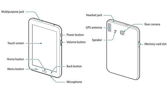 Die Low-Cost Tablet Galaxy Tab bestätigt für 3 Lite