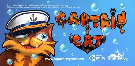 captain cat Captain Cat, el videojuego de Digital Tentacle, viene a Android