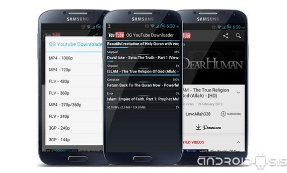 descarga los contenidos de you tube directamente desde tu movil o tablets dos Descarga los contenidos de You Tube directamente desde tu Smartphone o Tablet