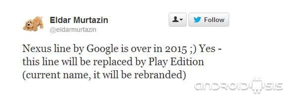 la variedad nexus de google podria tener los dias contados 1 La variedad Nexus® de Google® podría tener los días contados