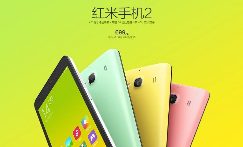 Xiaomi Redmi 2 lo tienes en Espaa por 150 euros