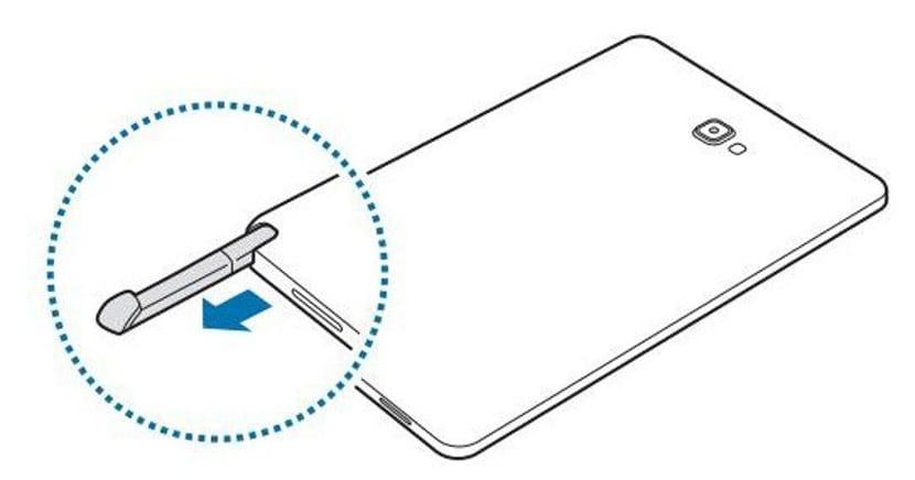 La tablet Samsung, número de modelo SM-P950, incluye el S Pen