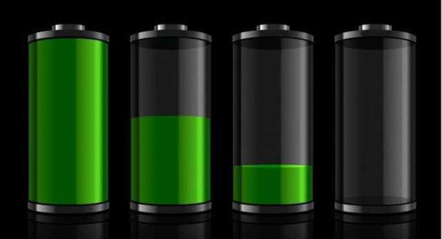nivel batería