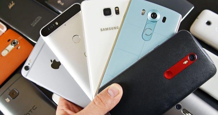 smartphones varios