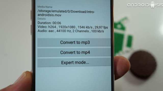 El mejor conversor de vídeo para Android.