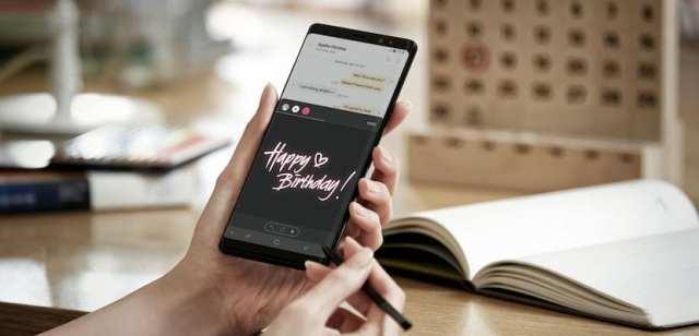 Cómo innovar y mandar Live Messages desde el Samsung Galaxy Note 8