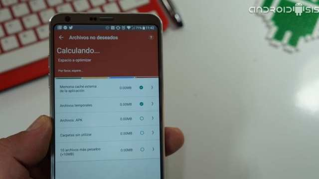 Una buena aplicación de limpieza Android que te va a asombrar