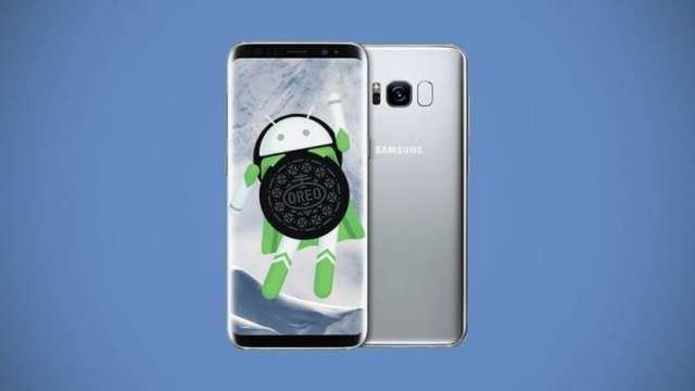 Android Oreo Galaxy℗ S8