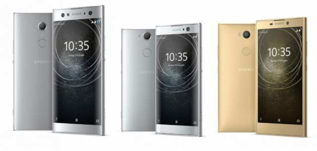 Sony Xperia(móvil) XA2, XA2 Ultra y L2