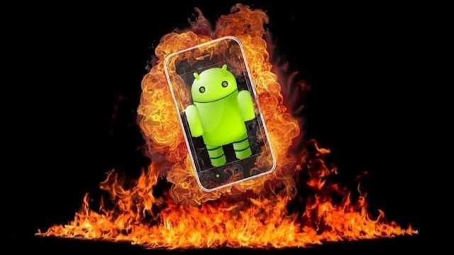 Temperatura Android