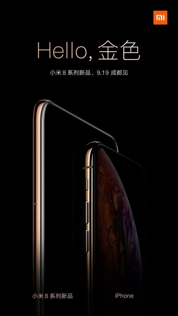 Xiaomi Mi 8 Youth dorado