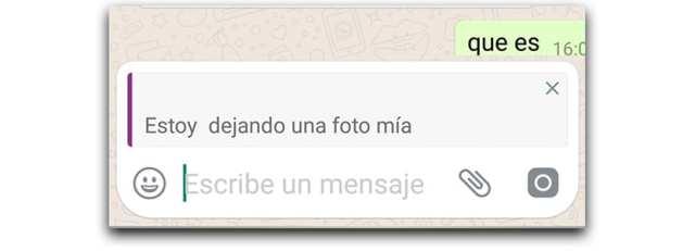 Cómo citar en WhatsApp