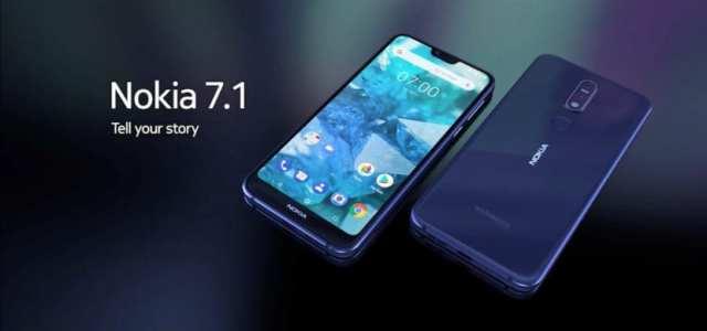 Nokia 7.1 disponible en los Estados Unidos