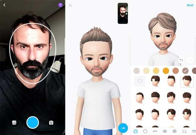 Crear avatar 3D