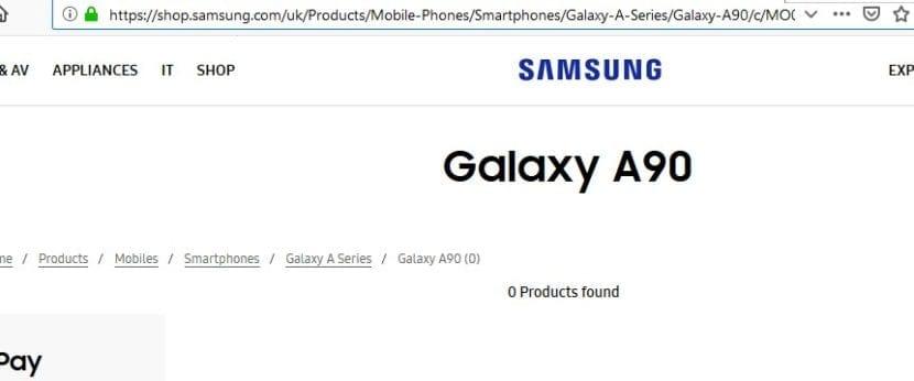 Los Samsung Galaxy A90, A20e y A40 se han filtrado