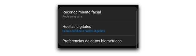 Huellas digitales