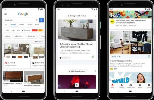 Google Discover anuncios