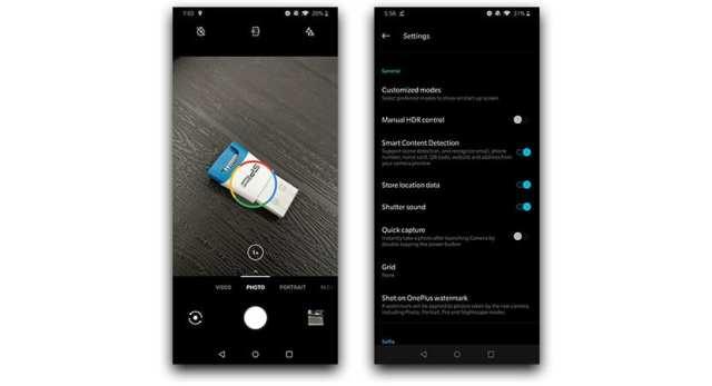 App de galería del OnePlus℗ 7 Pro
