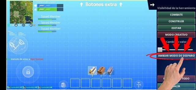 Cómo activar el manera disparo automático en Fortnite