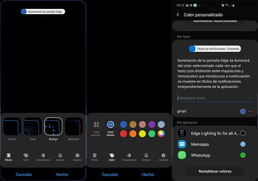 Activa la iluminacin Edge para las apps en los ltimos Galaxy y Note