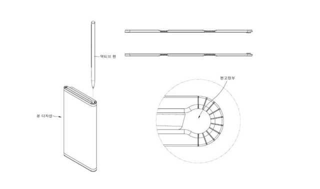 LG Patente plegable