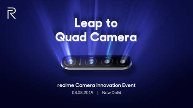 Anuncio del Realme con cámara de 64 MP
