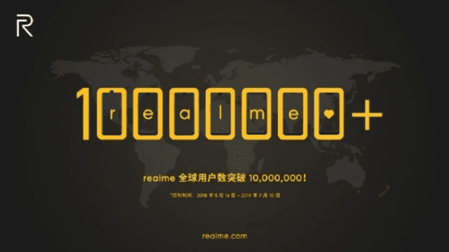 Realme logra vender 10 millones de teléfonos en 14 meses