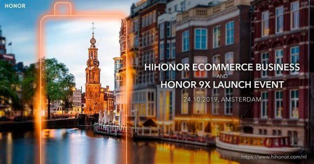 Honor 9X Amsterdam