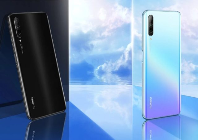 Huawei Y9s en sus dos variantes de color