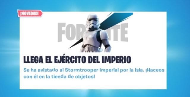 Stormtrooper . Fortnite
