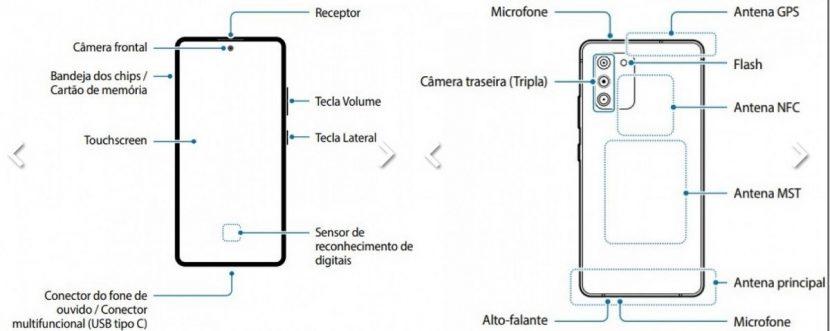 Aparece el manual de usuario del Samsung Galaxy S10 Lite