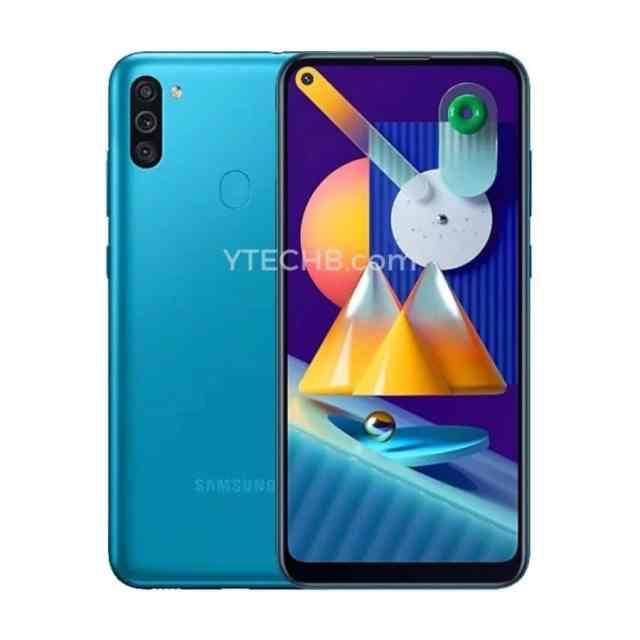 Samsung Galaxy℗ M11 azul render