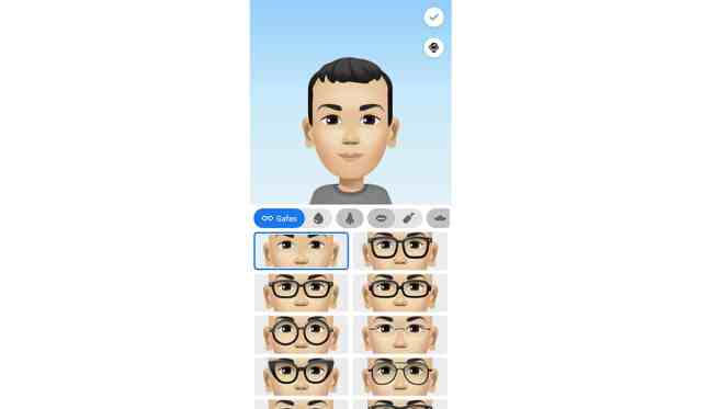 Vestuarios del avatar de Facebook