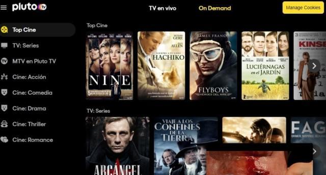 On Demand Pluto TV