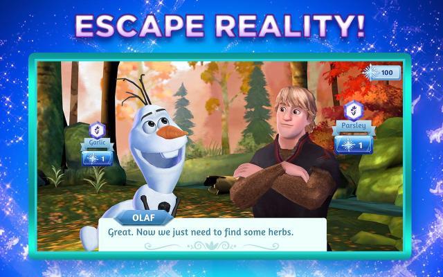 Frozen aventuras